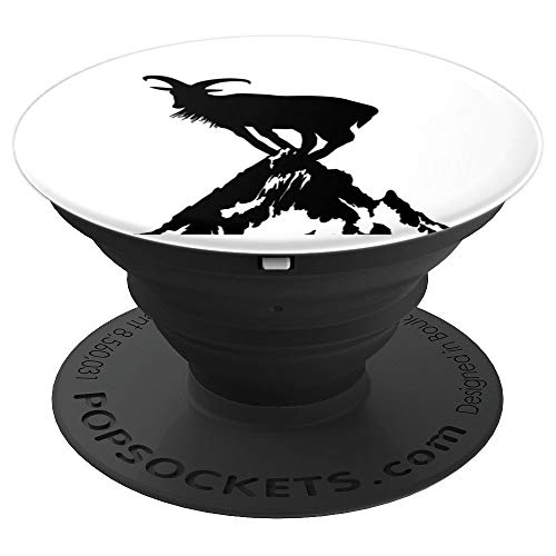 (King Of The Mountain Goat - PopSockets Grip and Stand for Phones and Tablets )