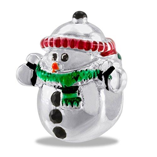 DaVinci Bead Snowman - Jewelry Bracelet Memories Beads DB27-6-DAV