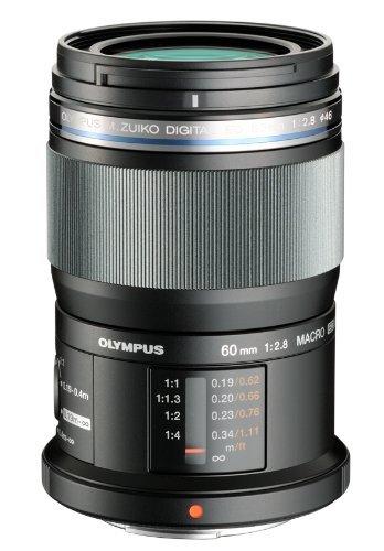 Olympus M.Zuiko Digital ED 60mm F2.8 Macro Lens, for Micro Four Thirds Cameras (Best 4 Thirds Camera)