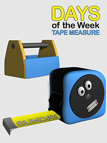 Days of the Week Tape Measure