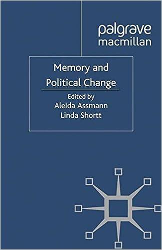 Memory and Political Change (Palgrave Macmillan Memory Studies)