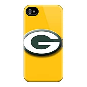Protective Hard Cell-phone Case For Iphone 4/4s With Unique Design High Resolution Green Bay Packers Pictures TimeaJoyce