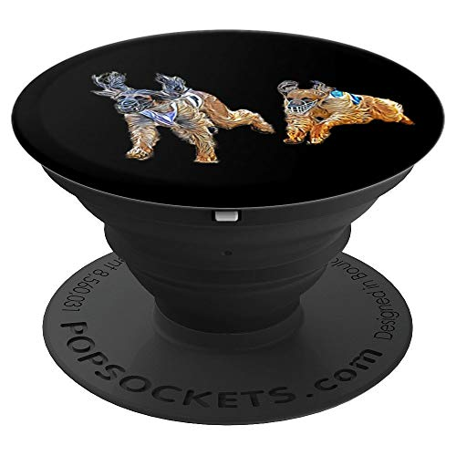 Race Greyhound - Dog Race Greyhounds Racing Hunting Dogs PopSockets Grip and Stand for Phones and Tablets