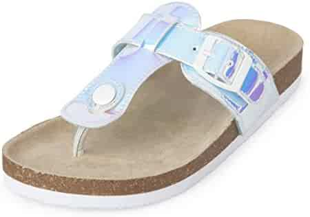 The Children's Place Kids' BG Thong Luna Flat Sandal
