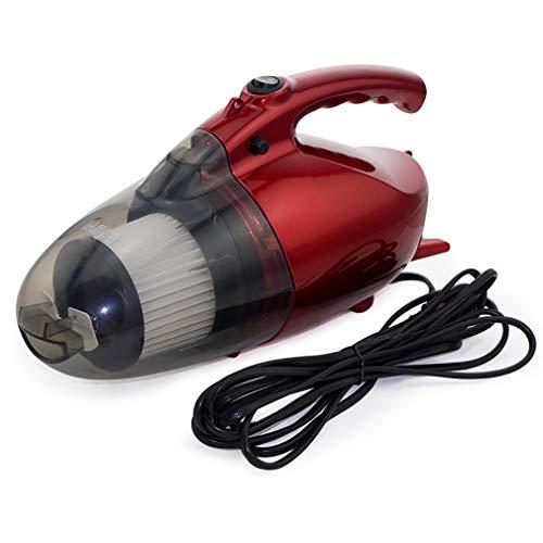 (ZUZEN Portable Multi-Function Mini Vacuum Cleaner 800W Portable Household Car Dual-Use Vacuum Cleaner Red)