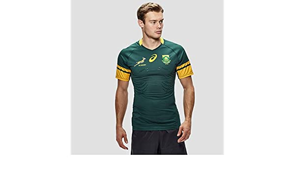 2016-2017 South Africa Springboks Home Test Rugby Shirt: Amazon.es ...