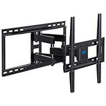 """Mounting Dream MD2380-24 TV Wall Mount Bracket Fits Stud Spacing 16"""" 18"""" 24"""" Inch for most 26-55 Inch Flat Screen TV, with Full Motion Swivel Articulating Dual Arms, up to VESA 400x400mm and 99 LBS"""