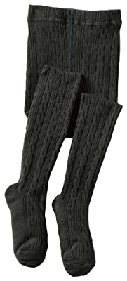 Jefferies Socks Little Girls' Cable Tight
