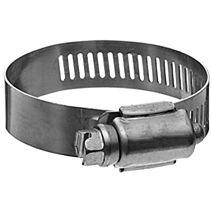1-13//16-2-3//4 Precision Brand MS36SS All Stainless Military Worm Gear Hose Clamp Pack of 10