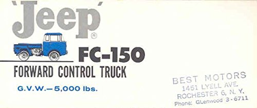 1959 Jeep FC150 Forward Control Brochure