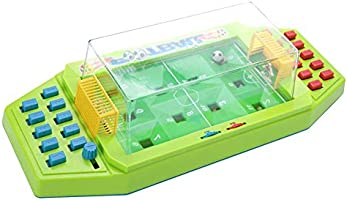 Bicaquu Juguete de futbolín, Juguete de futbolín de Escritorio Interactivo Juegos de fútbol de Mesa para 2 Jugadores Juguete Educativo temprano(Verde): Amazon.es: Deportes y aire libre