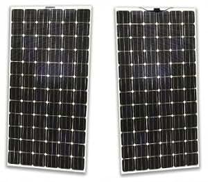 sunpreme Maxima 350W double-glass sin marco Bifacial Panel Solar (Pack de 4)