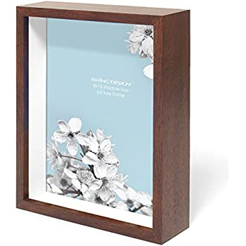 Amazon Com Lawrence Frames Front Hinged Shadow Box Frame