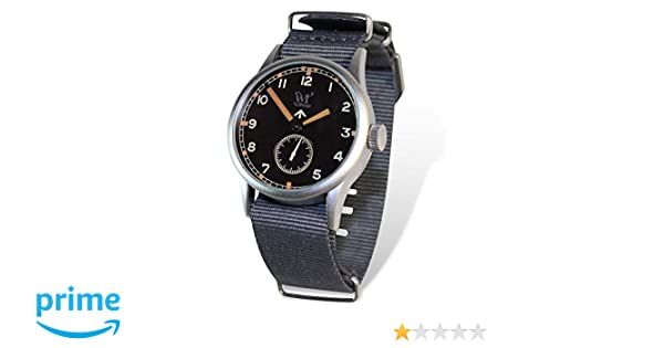 Reloj Wartime Royal Air Force (Réplica histórica Reloj Broad Arrow RAF II Guerra Mundial): Amazon.es: Relojes