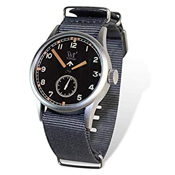 Reloj Wartime Royal Air Force (Réplica histórica Reloj Broad Arrow RAF II Guerra Mundial)