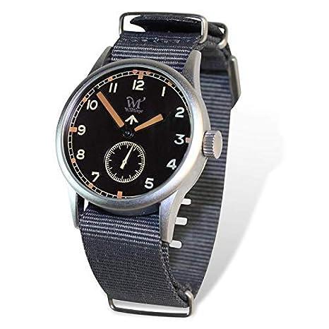 Reloj Wartime Royal Air Force (Réplica histórica Reloj Broad Arrow RAF II Guerra Mundial): Amazon.es: Relojes