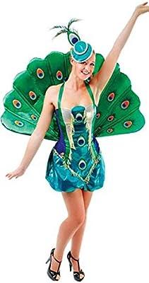 idealWigsNet Disfraz de Pavo Real Hembra: Amazon.es: Juguetes y juegos