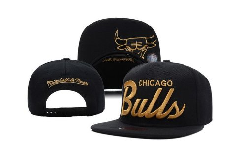 Chicago Bulls Snapback Cap Hat Gorra black-gold Edition Obey Miami ...