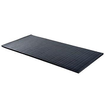 10 x5 negro - Colchoneta plegable gimnasio Pilates Yoga ...