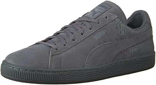 PUMA Men's Suede Classic Casual Emboss Fashion Sneaker