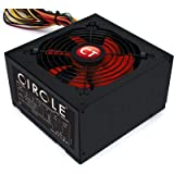 Circle 500 Watts PSU (SMPS) for Gaming cabinet and Server