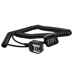 CowboyStudio, Pixel Nikon TTL Cable for SLRs and Flash Units, 10ft 3m TTL Off Camera Remote Cord for Nikon DSLR Camera and Flashgun SB-900, SB-800, SB-600 replaces SC-28