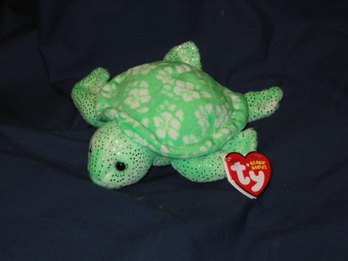 TY Beanie Babies  Sunrise  - Ty Island Turtle
