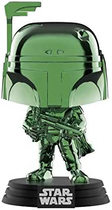 Funko Pop Disney: Star Wars - Boba Fett (Green Chrome) Summer Convention, Amazon Exclusive
