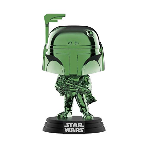 Funko Pop Disney: Star Wars - Boba Fett (Green Chrome) Summer Convention, Amazon Exclusive