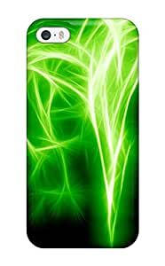 Iphone Cover Case - Abstract Green Protective Case Compatibel With Iphone 5/5s