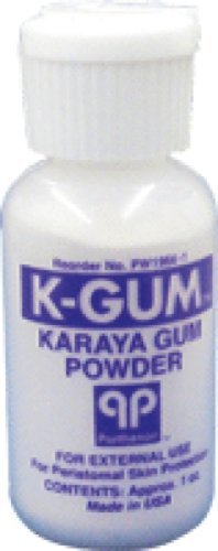 Gum Karaya Powder (Parthenon K-Gum Karaya Gum Powder 1Oz Bottle (1 Each))