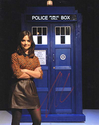 - JENNA COLEMAN SIGNED 8X10 PHOTO DOCTOR WHO AUTHENTIC AUTOGRAPH COA D