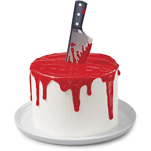 Wilton Halloween Bloody Knife Icing Decoration -