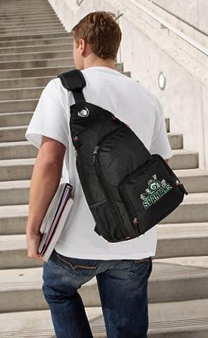 Michigan State Backpack Single Strap Michigan State Peace Frogs Sling Backpack - State Sling Backpack