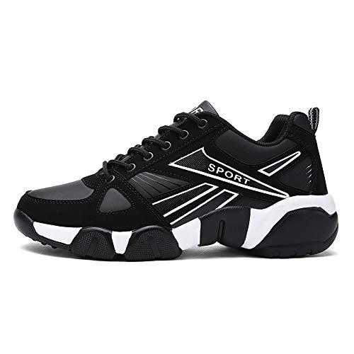 Cdon Men's Low Top Sneakers Walking Shoes(White-Lable 43/9 D(M) US Men) ()