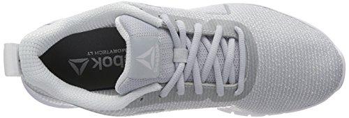 Reebok Gris Pro 000 Zapatillas Instalite Met Grey Running Silver para Mujer White de Cloud 1r1qnH