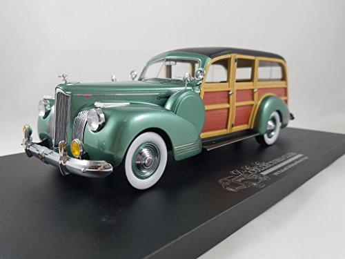1941 Packard Woody Wagon Deluxe Resincast Model in 1:24 (1941 Packard Wagon)