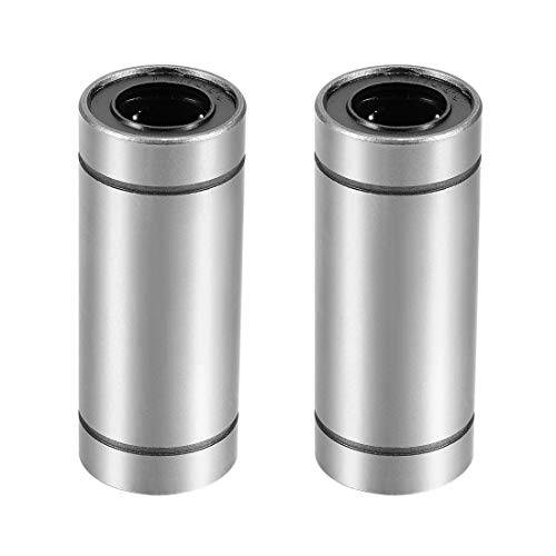 uxcell LM16UU Extra Long Linear Ball Bearings, 16mm Bore Dia, 28mm OD, 70mm Length (Pack of ()