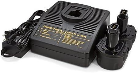 9.6V 2X Battery for DeWalt DW9062-1300mAh NICD