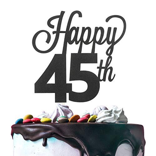 45 number cake topper - 6