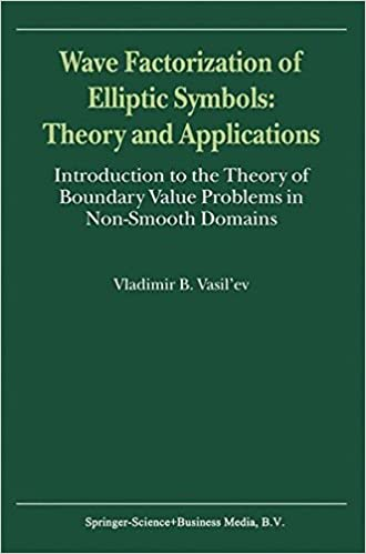 Descargas de libros electrónicos gratis para ibook Wave Factorization of Elliptic Symbols: Theory and Applications - Introduction to the Theory of Boundary Value Problems in Non-Smooth Domains PDF by Vladimir B. Vasil'ev
