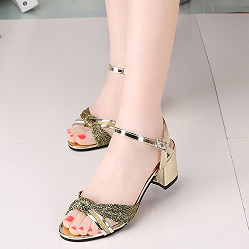 Women Mid heel Flip Flop Sandals Casual Loafers Bohemia Sandals For Ladies
