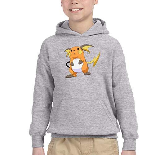 AIDEAR Raichu Boys' Long Sleeve Hoodie Sweatshirt 39