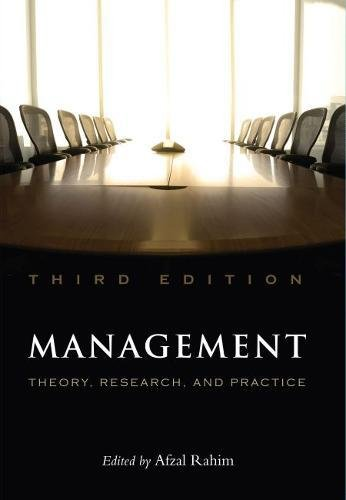 Management: Theory, Research, and Practice