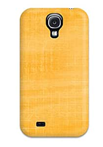 Galaxy S4 Case, Premium Protective Case With Awesome Look - Solid Faded Yellow