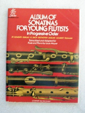 (Album of Sonatinas for Young Flutists in Progressive Order. For Flute & Piano (Louis Moyse Flute Collection))
