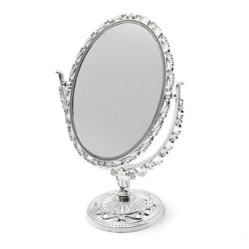 Mirror Make Up Cosmetic Victorian Style Elegant Glass Women Beauty - Sunglasses Juno