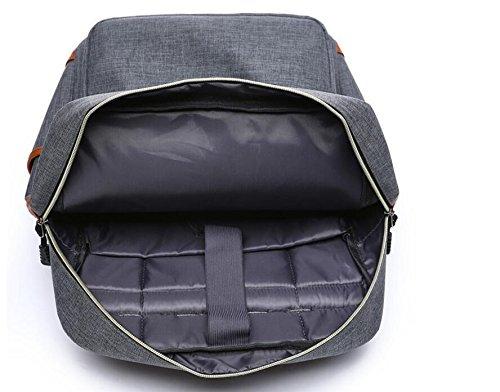 marbeine Rucksack für Laptop, impémeable Super leicht 30L Backpack mit USB-Buchse für Schule Student Herren Damen Business blau