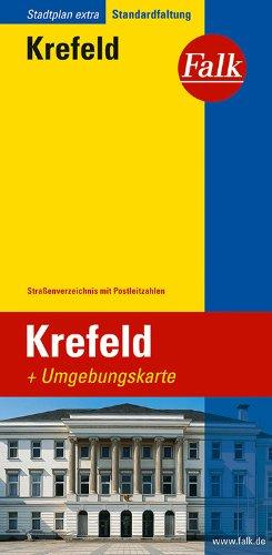 Falk Stadtplan Extra Standardfaltung Krefeld