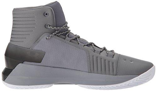 Gray De Para Zinc zinc Armour Drive Under Hombre Baloncesto Ua 4 Gray Zapatos black qw1ZWfRO